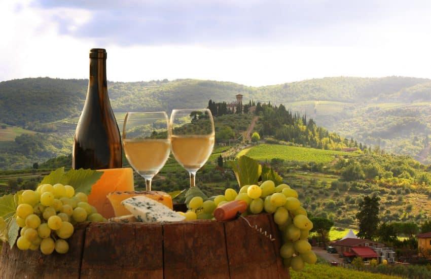 Chianti wines Tuscany
